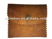 both imitation faux suede flap pouch bag