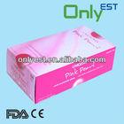 Pink Color Medical Grade Of Nitrile Glove