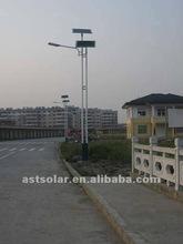 Double Pole Design Solar Street Light (100% solar power)