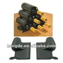 custom shape wine wedge silicone wine wedge