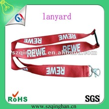 2012 polyester print lanyard with security buckle