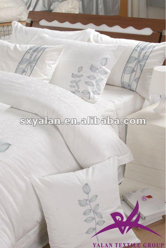 100 coton h tel de luxe satin linge de lit draps de lit literie id du prod. Black Bedroom Furniture Sets. Home Design Ideas