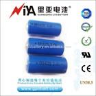 2/3aa lithium battery 3.6v er14335 1.6Ah( lisoci2 battery)