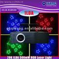 ilda lleno de colores 500mw animación láser mini luces de discoteca
