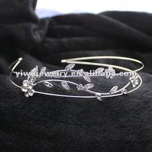 H172-015 The Latest Fashion Rhinestone Bridal Flower Headband