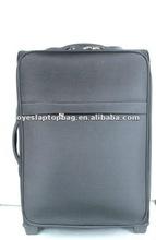 """black 20"""" 24"""" fibre fancy travel trolley luggage travel bag"""