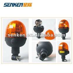 Halogen rotating amber beacon applied on heavy duty vehicles