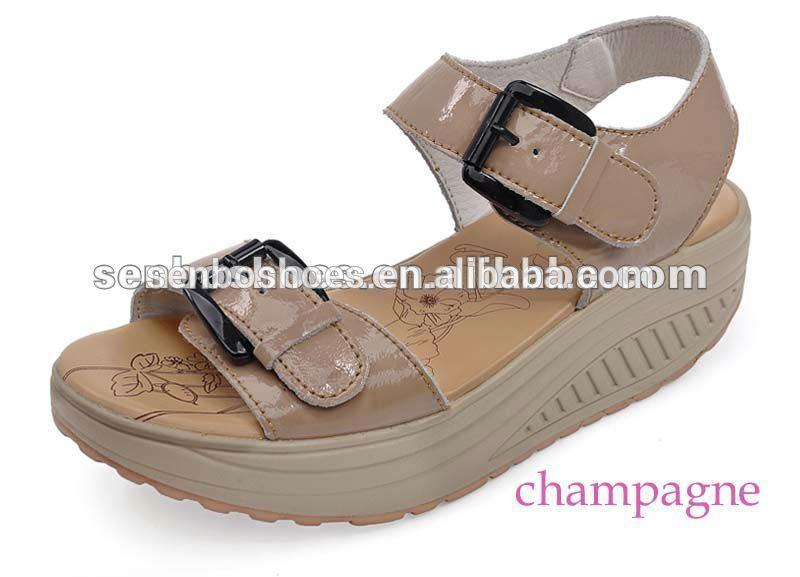 Talon haut chaussures dame sandales sandales de santé