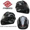 Full face motorcycle helmet ECE,DOT,NBR approved fs-801