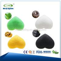 Green tea Konjac sponge natural ingredients OEM
