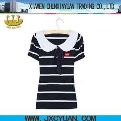2012 fashion ladies t-shirt Korea style