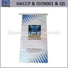 bopp laminated kraft paper bag with hot melt adhesive tape
