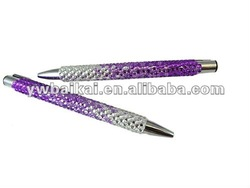 bling rhinestones promotional pen