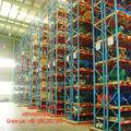 Almacén de almacenamiento bastidores paleta/heavy duty estantes/estantes de metal