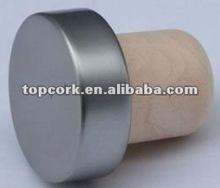 plated aluminium cap bottle stopper TBE19.7-30.8-20-10.6(grey)