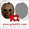 Personalizado máscara de halloween( ver a través de, cualquier cara imagen)