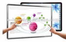 "Cheap 82-120"" Dual writing portable smart interactive whiteboard"