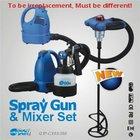 Spray Gun & Mixer Set