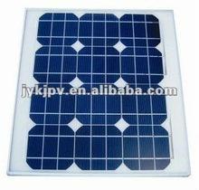 18V solar panel,mono 25W solar panel for home use