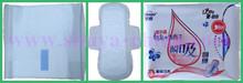 320 mm caliente de la venta de iones negativos para mujer natural toallas sanitarias