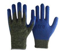 NMSAFETY kevlar & steel wire latex working glove