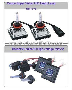 2014 New 12V 35W Xenon Super Vision HID Head Lamp