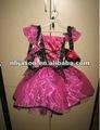De color rosa vestido de bruja/rosa trajes de bruja/rosa de halloween vestido de bruja