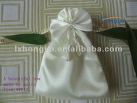 New designed satin bag with beautiful bow