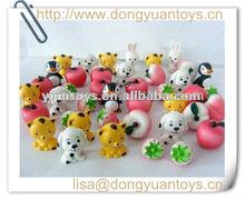 8 design/set vinyl promotion mini toy for kids