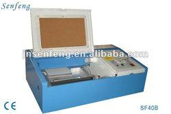 polymer rubber laser stamp machine laser engraving