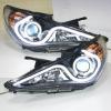 Hyundai Sonata Angel Eyes LED head lamp 2009 to 2011 year V2 Type