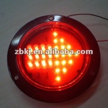 """FMVSS SAE Approved 4"""" Rear tail brake lamps leds"""