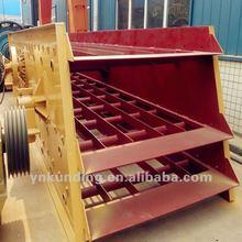 sandstone making production line choose stone vibrating screener