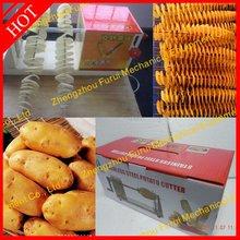 Mini type Tower Chips Machine Potato Spiral Cutter 008615838031790
