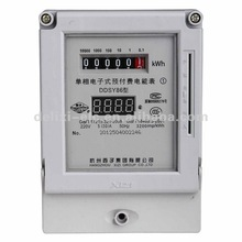DDSY86 Electronic prepaid electric energy meter