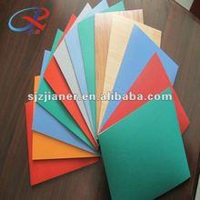 Easy to clean squash court vinyl flooring system