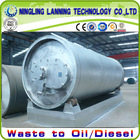 New catalyst formula high quality waste tyre recycling plant
