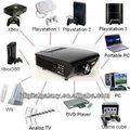 Proiettore a led 4 hometheater video gioco, dvd film, tv, computer