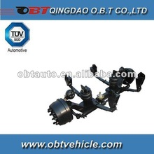 Air Suspension with Lifting System