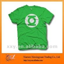 Discount Brand T-shirts CVC Fabric T-shirt, Printed T-shirts