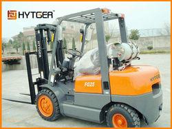 2.5 Ton TCM type Nissan Engine petrol/LPG Forklift Truck FG25T/C(LPG)