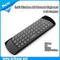 2.4G mini kablosuz klavye lg akıllı tv uzaktan kumanda ve sinek fare işlevi