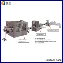 6000 bottles per hour mineral water plant cost, small mineral water plant factory price in Guangzhou