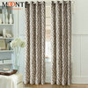 10 years factory Moonte designed Linen polyester window curtain design