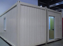 Two Bedroom Family Luxury Living Folding 20ft or 40ft Shipping Container House with Bathroom Suppliers