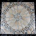300x300mm Foshan imitan piedras antideslizante suelo de baldosas de cerámica terraza jardín