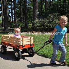 wooden baby stroller/John Deere stake wagon