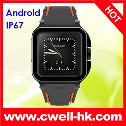 New UNOVA IRON MAN Unlocked IP67 Waterproof smart watch mobile phone
