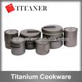 Luz ultra titanium fancy utensíliosdecozinha, utensíliosdecozinha titânio revestido, conjunto de panelas em titânio