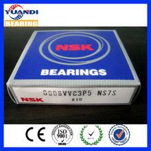 Hot supply and long life 6008 NSK deep groove ball bearing china direct import